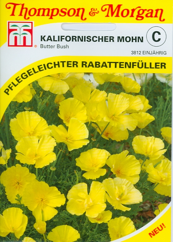 Eschscholtzia Butterbush NEW einj. TMC