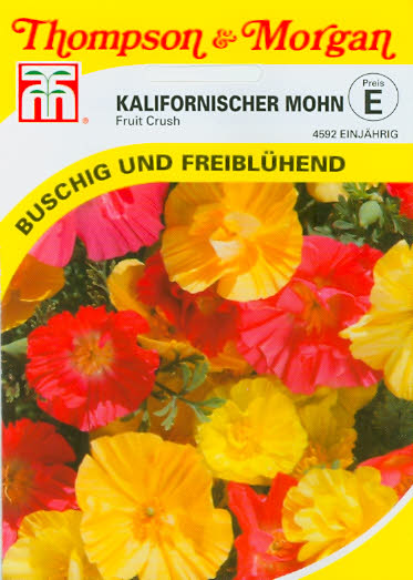 Kalifornischer Mohn Fruit Crush NEU einj. TME