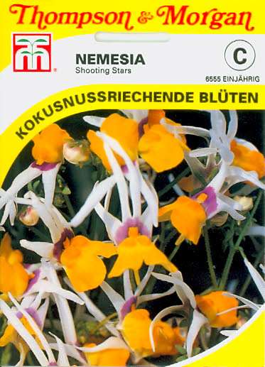 Nemesia Shooting Stars einj. Elfenspiegel