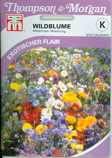 Wildflower Mediterranean Mix T&M UK