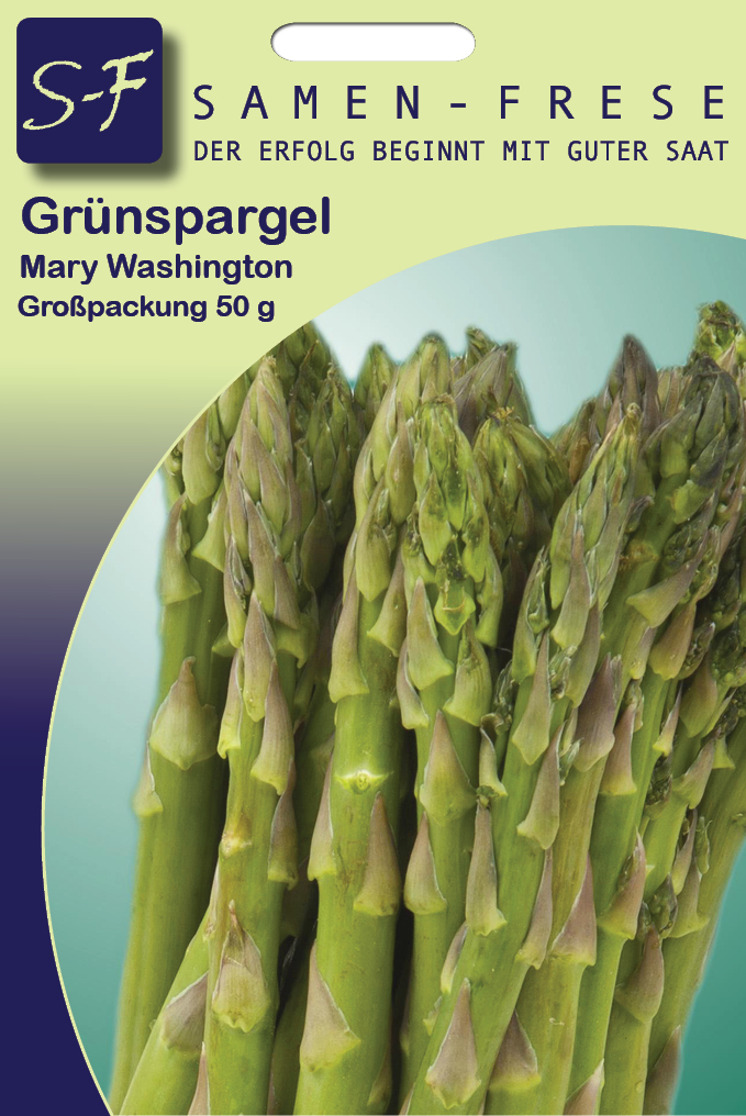 Grünspargel 50 g Mary Washington (ca. 2.600 Korn)