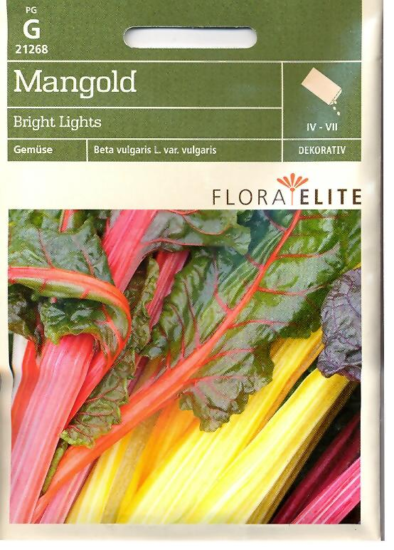 Mangold Bright Lights Beta vulgaris L. var. vulgaris (FE g)