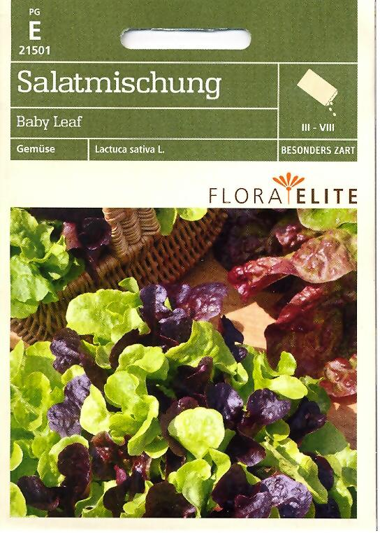 Salatmischung Baby Leaf Lactuca sativa L. (FE e)
