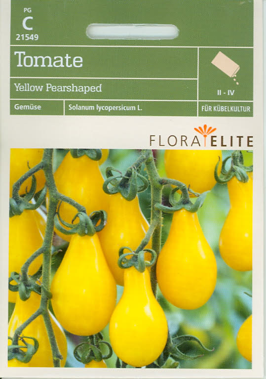 Tomaten Yellow Pearshaped (FE c)