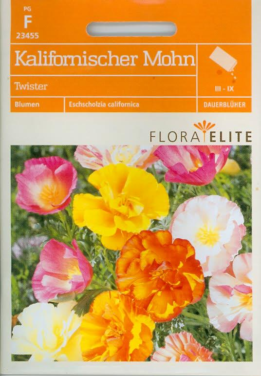 Kalifornischer Mohn Twister Eschscholzia californica (FE f)