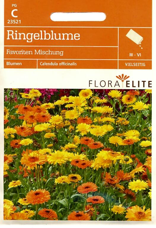 Ringelblumen Favoriten Mischung Calendula officinalis (FE c)