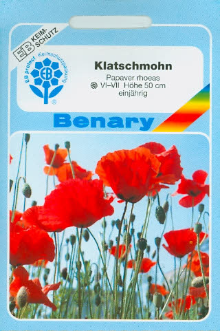 Klatschmohn Wildsorte Papaver rhoeas (S541)