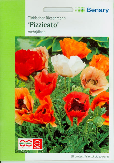 Papaver Orientale Mix Bella Benary (S518G)