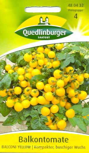 Balkontomaten Balconi Yellow Q4
