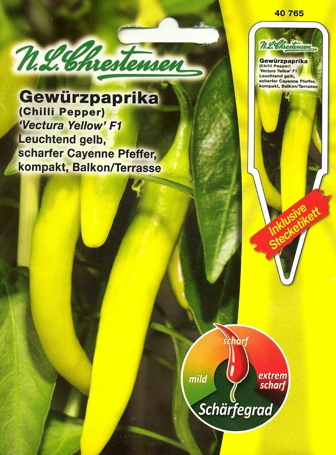 Gewürzpaprika/Pepperoni, Vectura YellowF1