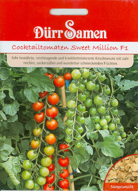 Tomaten Sweet Million F1 DüF