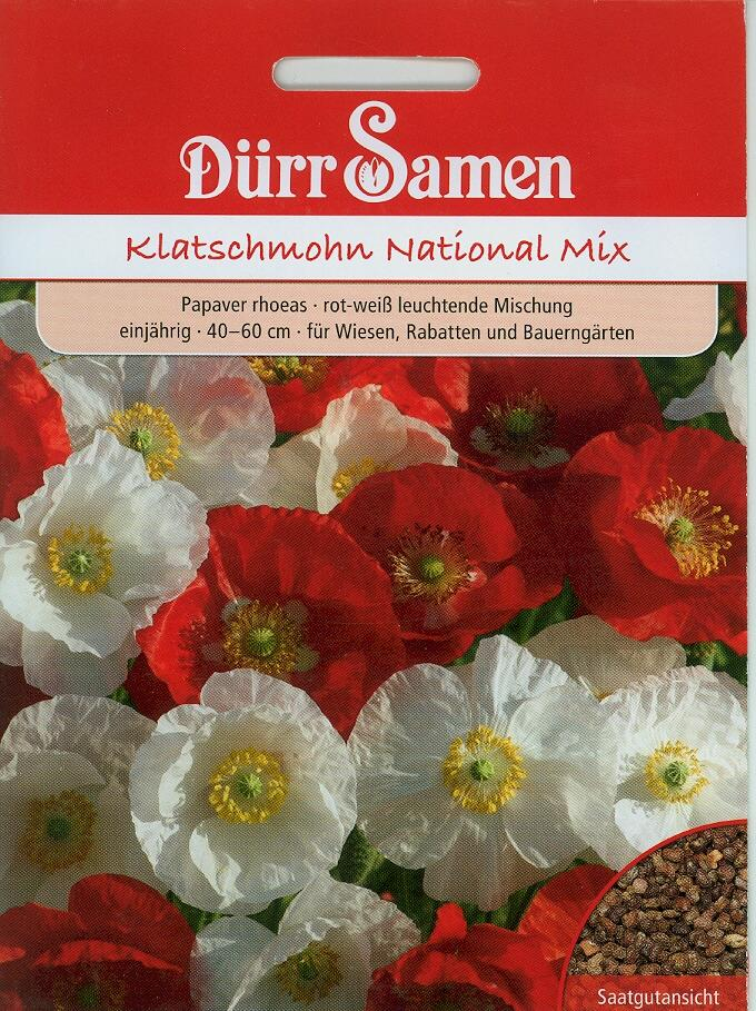 Klatschmohn National Mix (Dü H)