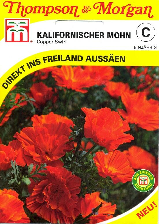 Kalifornischer Mohn Copper Swirl (TM C)