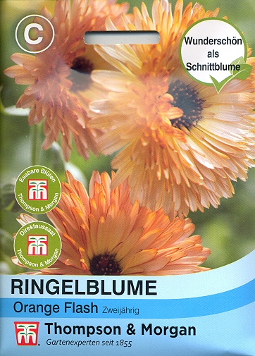 Ringelblume Orange Flash - NEU Calendula officinalis TM C